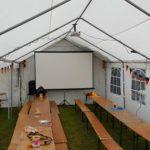 Beamer, Leinwand und Tontechnik - Veranstaltungstechnik von Beamerverleih Aschaffenburg im Einsatz